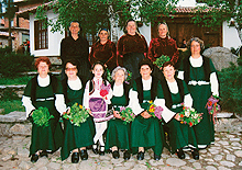 Folklore ensemble of Prosveshtenie community club